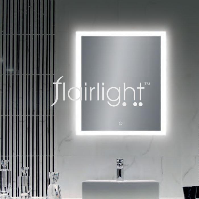 Acb Amanzi 16 3596 65 Ip44 Illuminated Mirror 41w Led