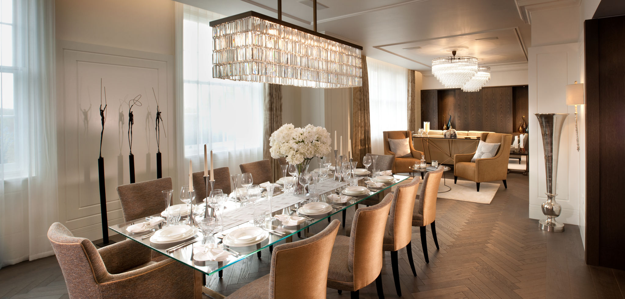 Flairlight innovative LED lighting - dining
