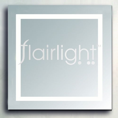 Flairlight illuminated mirror bathroom