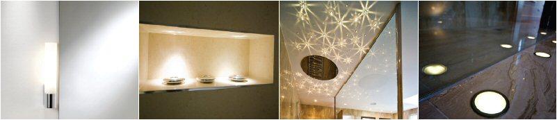 En-suite lighting images