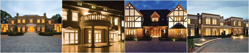 Facades lighting images