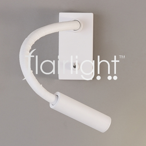 Flairlight LED Bed Side Reading Light in Metal