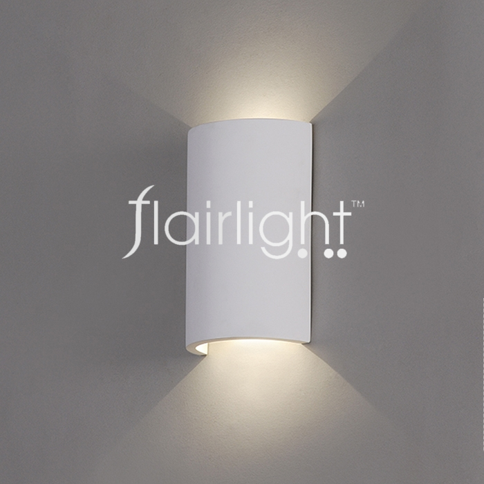 Flairlight LED 3.3w Plaster Wall Luminaire