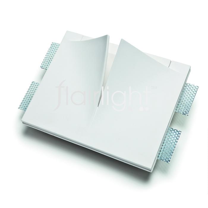 Flairlight 7w IP20 Plaster-in Luminaire -V Slot