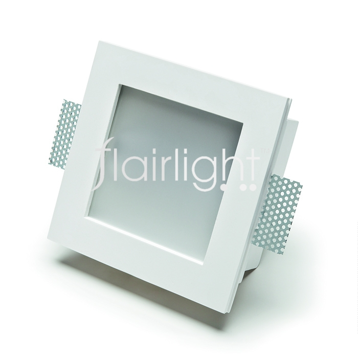 Flairlight 7w IP44 Square Plaster-in Downlight