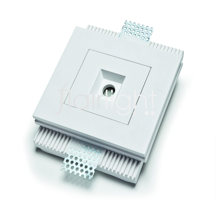 Flairlight IP20 3.3w Plaster-in Luminaire - Recessed Optic