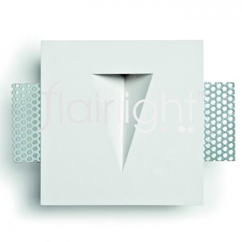 Flairlight IP20 1w Plaster-in Guidance Light - V Slot
