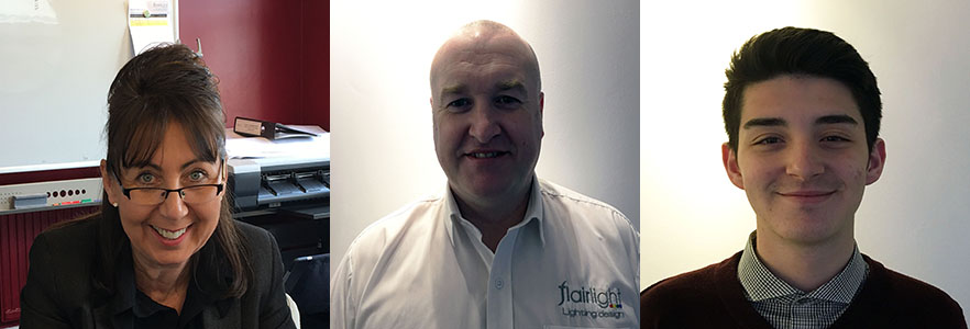 New starters at Surrey LED lighting specialists