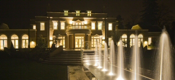 Wentworth exterrior lighting project